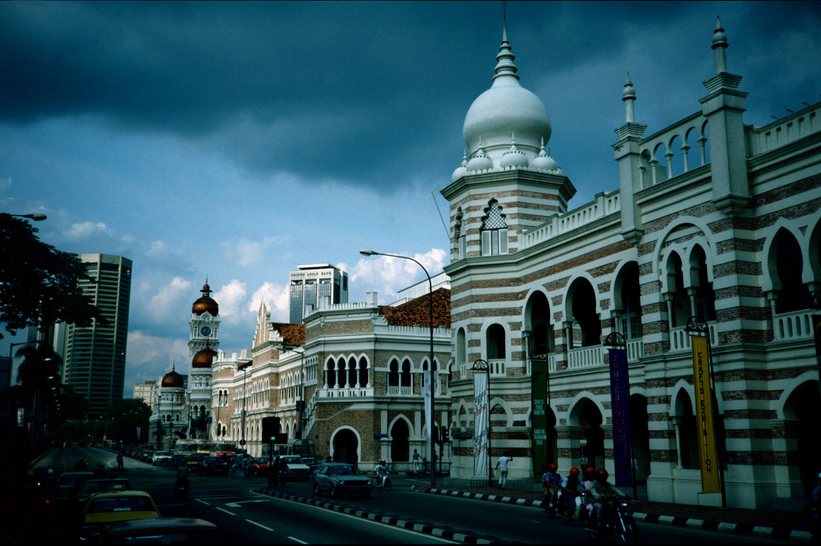 The Petronas Towers in Kuala Lumpur- SW Version Foto