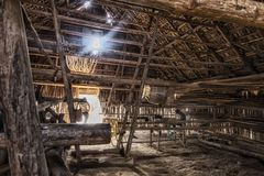 Kuba Erinnerungen- Tabak Kammer in Vinales