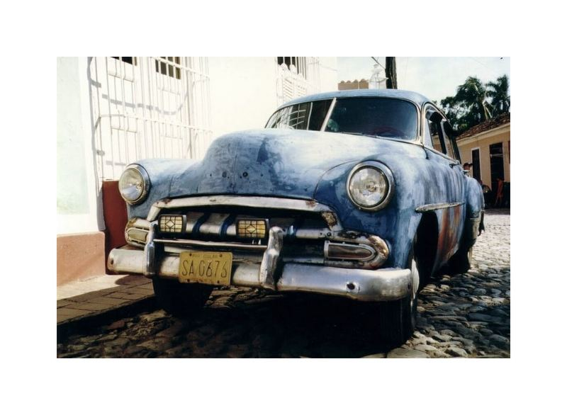 Kuba, Trinidad, Oldtimer (reload)