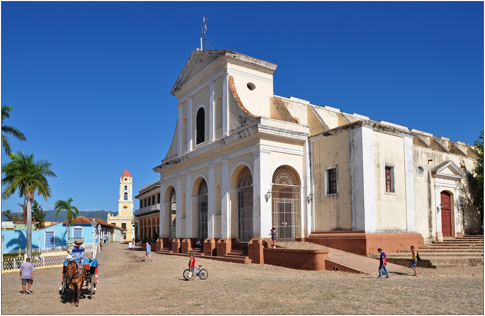Kuba, Trinidad, Plaza Mayor