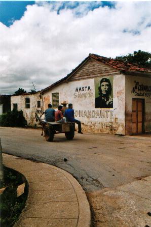 kubanisches strassenbild