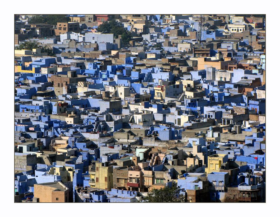 Kubismus - Blaue Phase