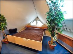 Kubushäuser - Schlafzimmer
