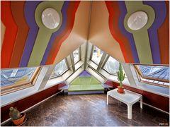 Kubushäuser - Wohnzimmer