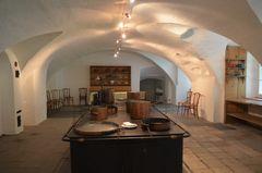 Küche aus dem Edlen Bade und Thermen Hotel in der Taminaschlucht