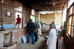 Küche der koranschule für Mädchen der Roten Moschee von Islamabad