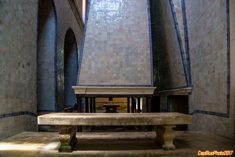 Küche etwa Ende 16 Jahrhundert Grill mit Kamin Mosteiro de Alcobaca