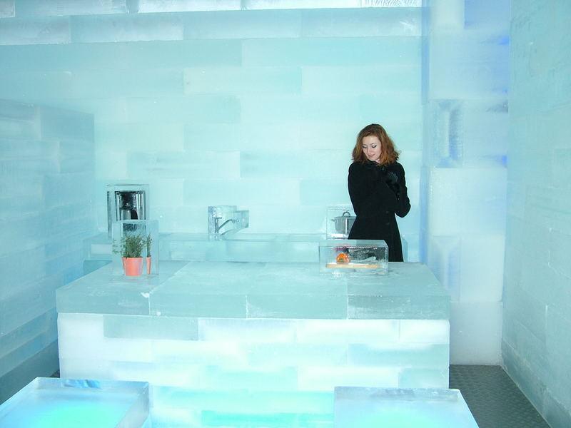 Küche im Eishaus