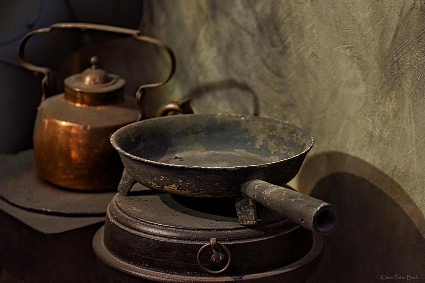 Küchenzeile um 1840