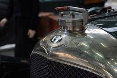 """Kühler eines Bentley """"Van den Plas 4.5ltr."""""""