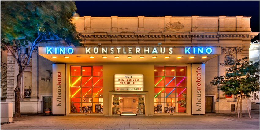 Künstlerhaus Kino Foto Bild Bearbeitungs Techniken Hdri Tm