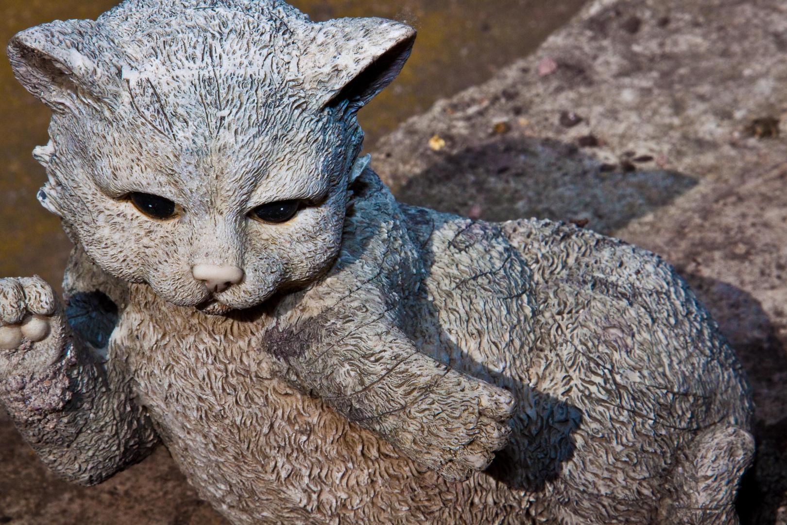 Künstliche Katze