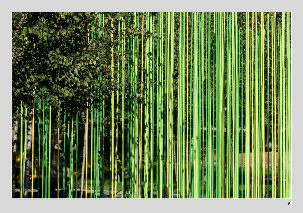künstliches Grün