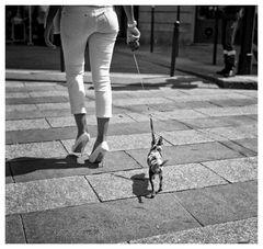 Kürzlich auf dem Champs-Èlisèes