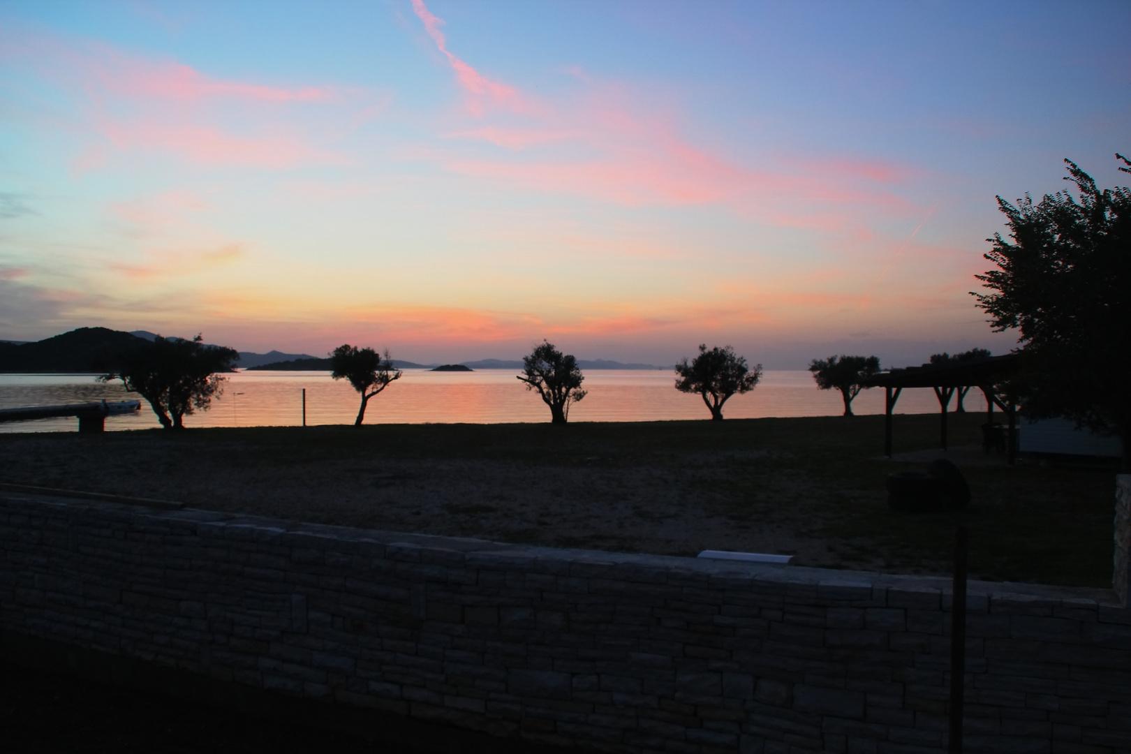 Küste bei Rovinj/Kroatien