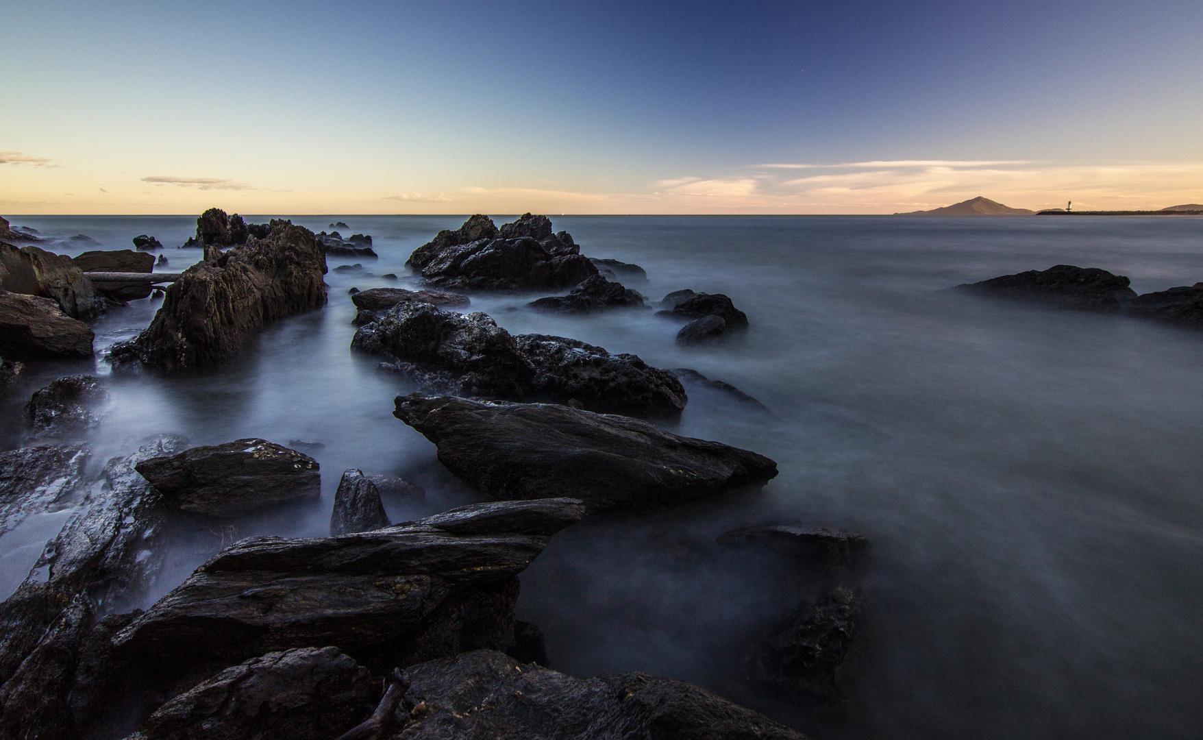 Küste Cabuçudas, Brasilien