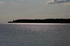 Küste der Insel Fünen in Dänemark
