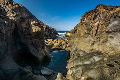Küste El Sauzal - Teneriffa