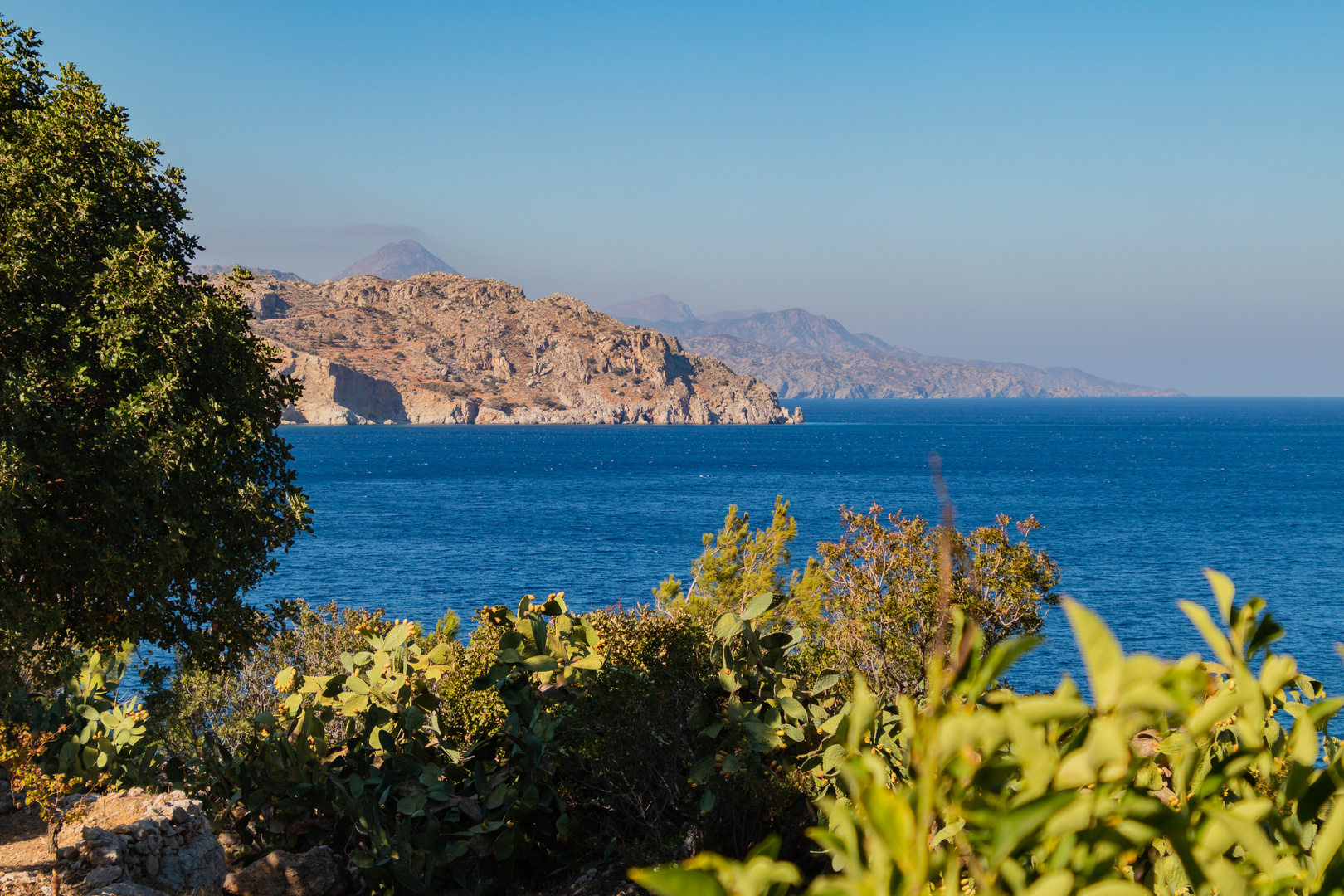 Küste in der Nähe des Apella Strandes
