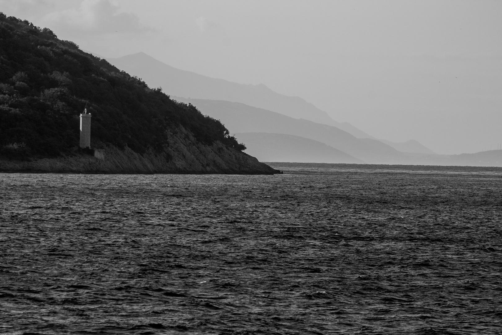 Küste von Cres