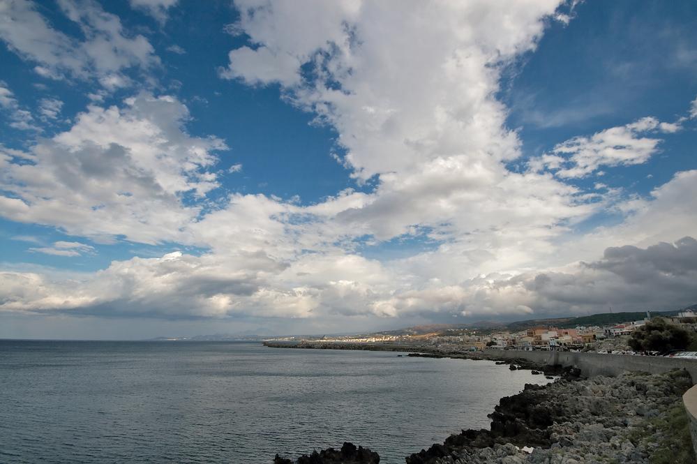 Küste vor Rethymnon