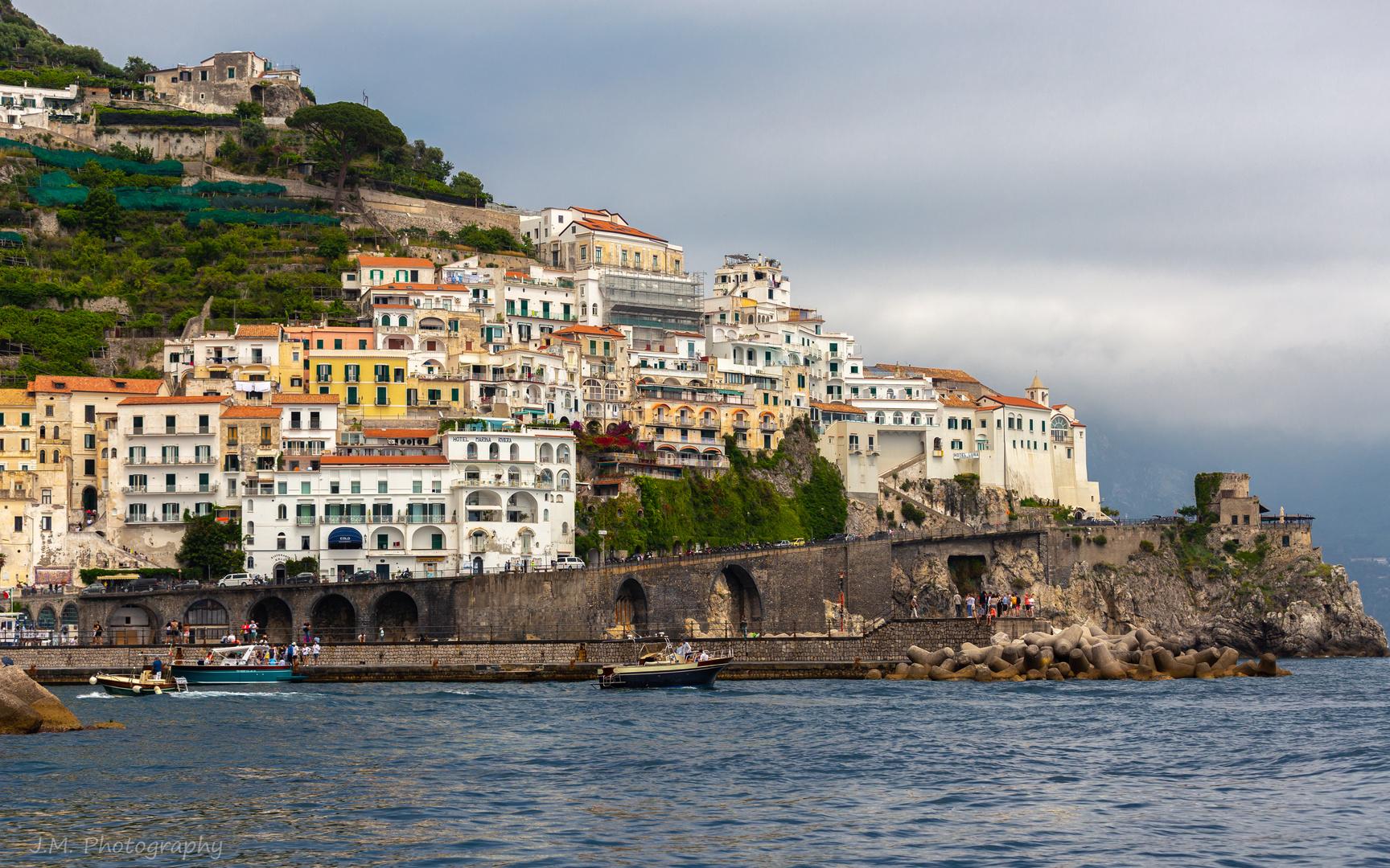 Küstenabschnitt von Amalfi