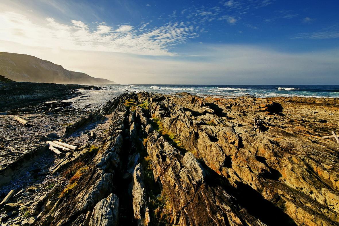 Küstenlandschaft in Südafrika/Tsitsikamma