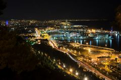 Küstenlinie Barcelona