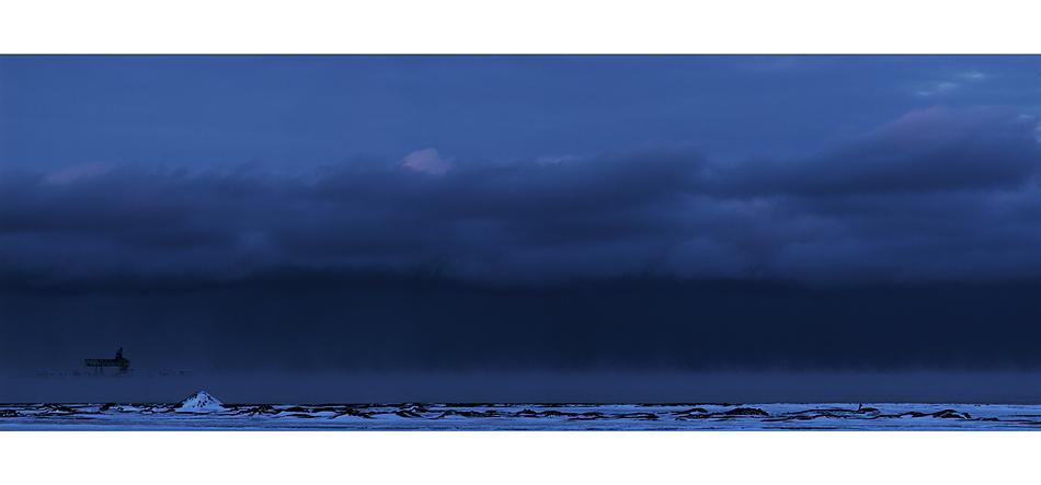 Küstennebel (Spitzbergen)