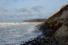 Küstenschutz ist wichtig..wie hier zum Beispiel..Insel Hiddensee