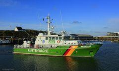 Küstenwache im Hafen von Hörnum auf Sylt