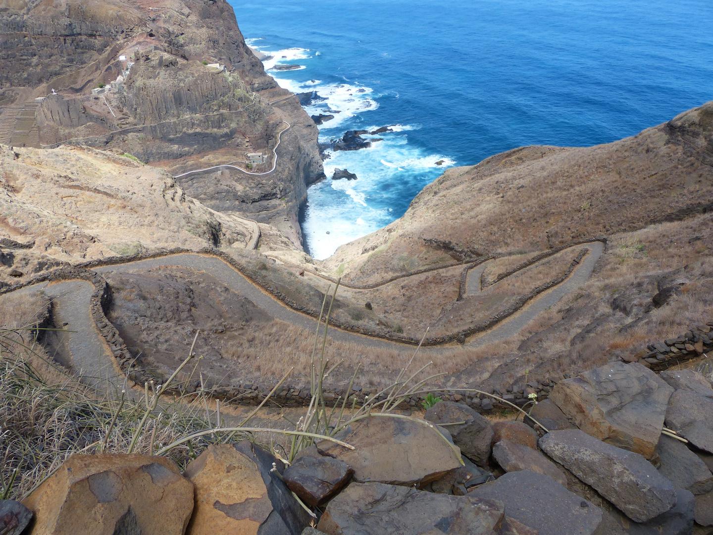 Küstenwanderweg auf Santo Antao 1