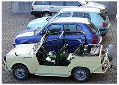 Kultfahrzeug der Malteser