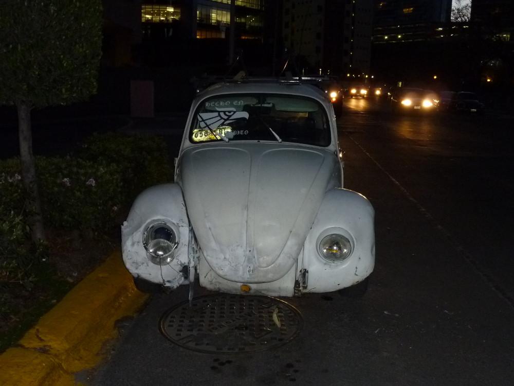 Kultmobil in Mexiko City