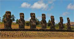 Kultstätte Ahu Akivi