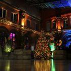 Kulturbahnhof Kassel in der Vorweihnachtszeit
