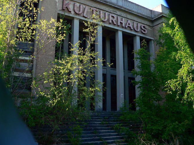 Kulturhaus von Zinnowitz - und wie sieht es 4 Jahre später aus?
