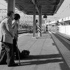Kumamoto - Waiting for the train
