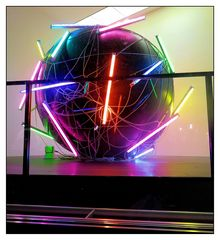 Kunst als Leuchtobjekt