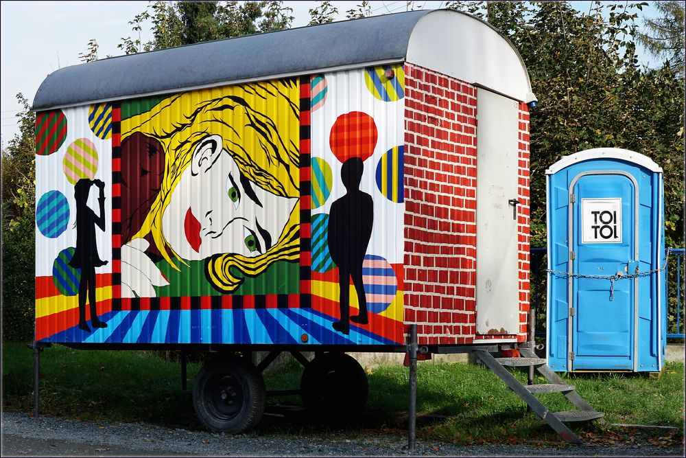 Kunst am Bauwagen