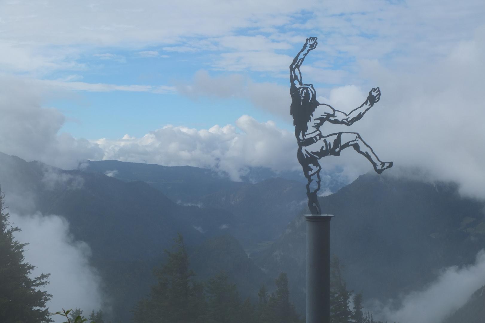 Kunst auf dem Gipfel