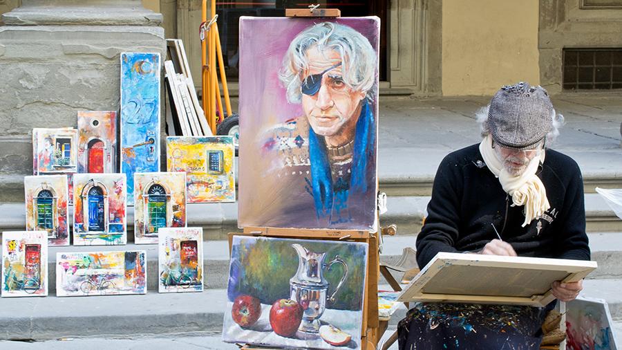 Kunst auf der Straße