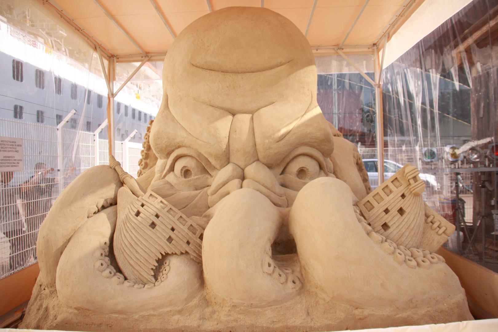 Kunst aus Sand