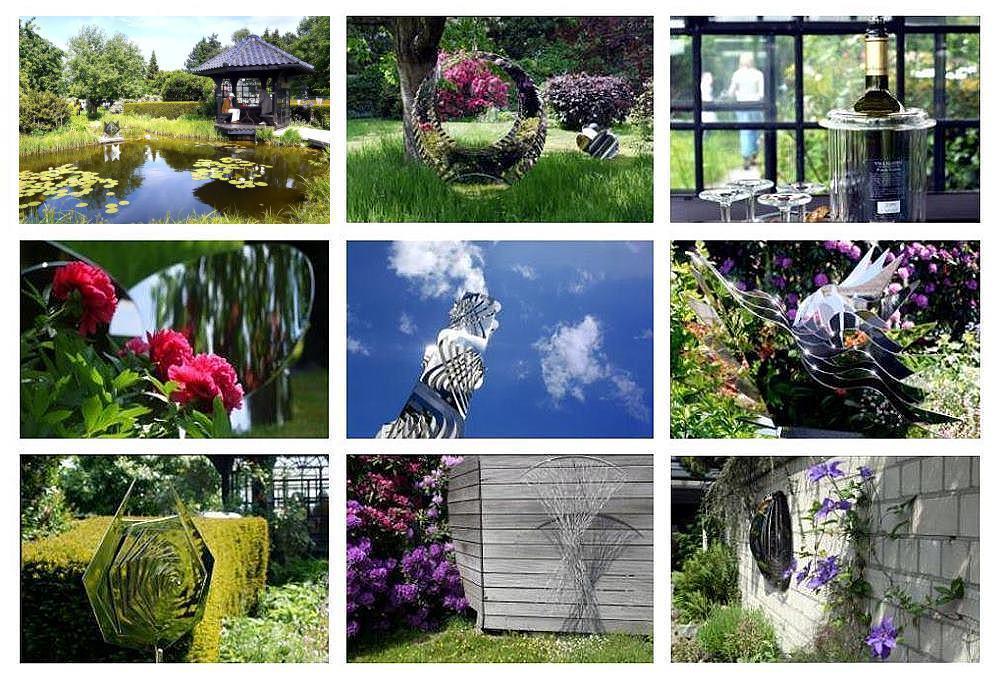 Kunst im garten foto bild kultur natur bilder auf - Kunst im garten bilder ...