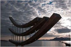 Kunst im Hafen...