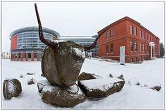 Kunst im Schnee