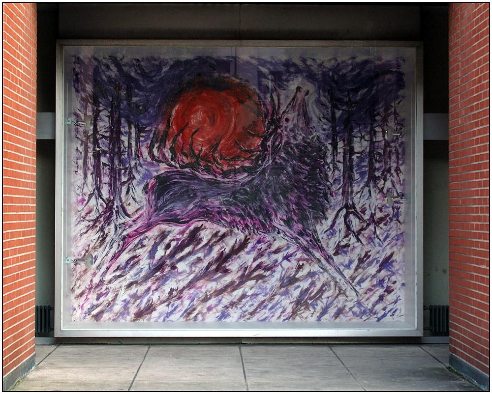 ... Kunst im Sozialbau ...
