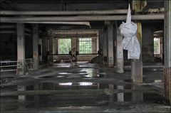 Kunst in der alten Papierfabrik