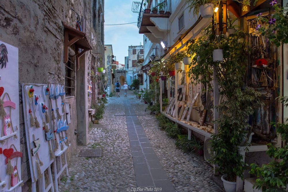 Kunst in der Altstadt von Rhodos Stadt