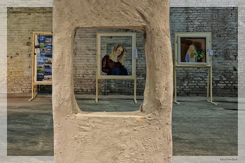Kunst in der Hütte